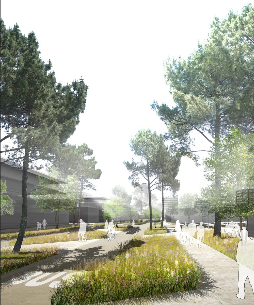 March de d finition des espaces publics et r sidentiels for Architecte urbaniste definition
