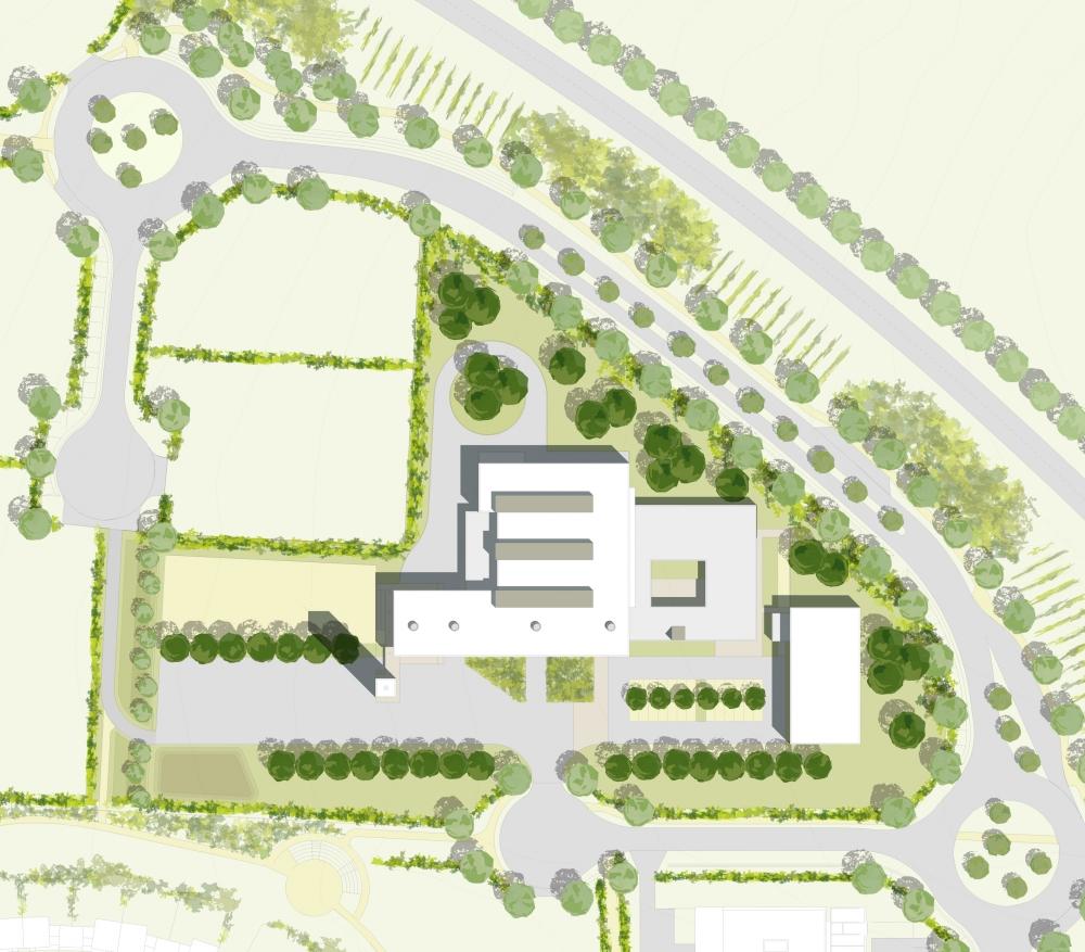 Construction d 39 un centre d 39 incendie et de secours zac for Plan de cognac