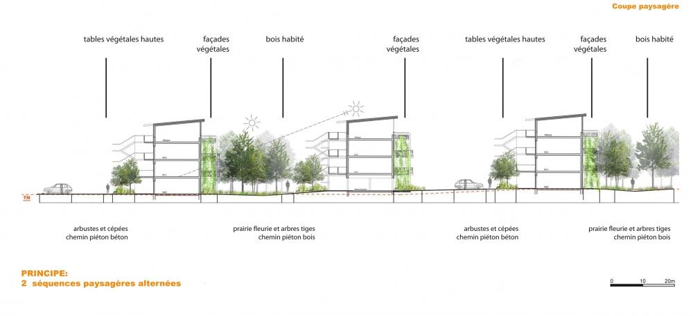 65 logements ambar s et lagrave 33 for Espace vert lotissement